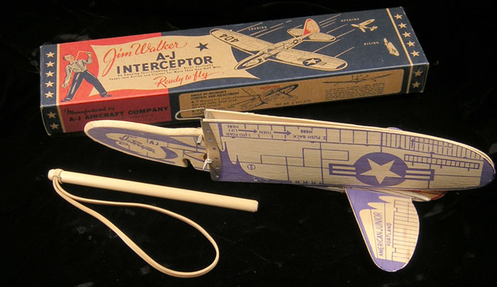 404 A-J Interceptor and box, Frank Macy production from 1999