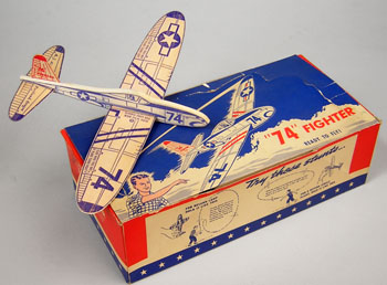 74 Fighter and dealer display box