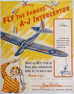 Army Interceptor Poster, Jim Walker