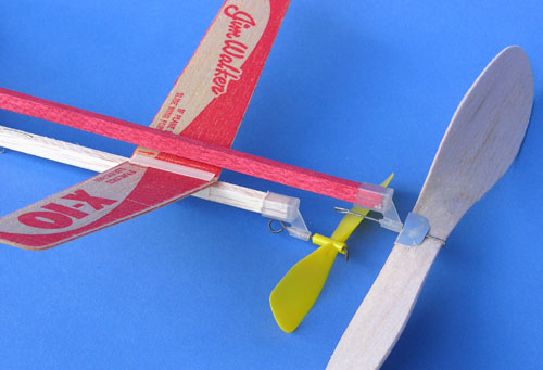 Super Ceiling Walker and X-10 model plane