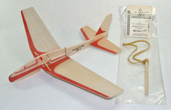Original Florio Flyer XP-1 Rocket Plane