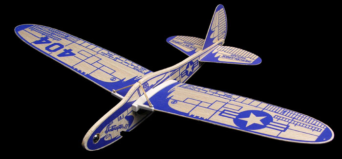 Interceptor II an 2006 model by Frank Macy, folding wing glider