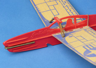Plastic fuselage of folding wing Pactra 404 Interceptor