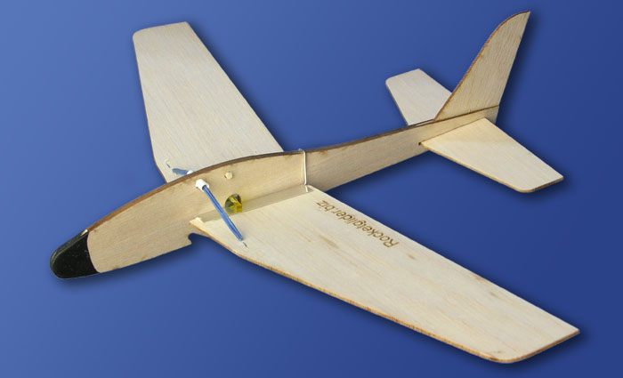 Folding Wing Rocket Glider by Rick Schertle, based on Jim Walker concept