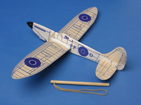 Folding Wing Spitfire glider