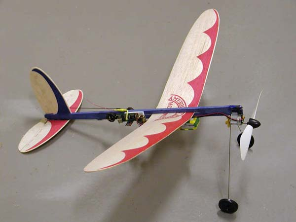 American Junior Hornet with micro radio control by Paul Bradley