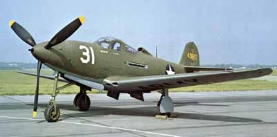 P-39 Bell Aircobra was the inspiration for the Army Interceptor by American Junior