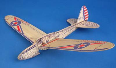 American Junior Army Interceptor a folding wing catapult launch glider by Jim Walker