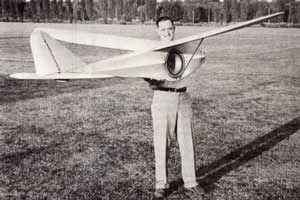 Jim Walker's Sonic Controlled Glider
