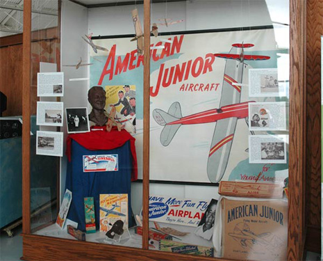 The Jim Walker and American Junior Aircraft Company exhibit at Evergreen Aviation Museum in McMinnville