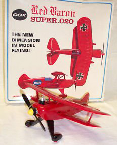 Cox Red Baron model plane