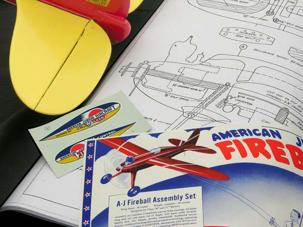 Fireball plans by Frank Macy of American Junior Classics