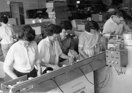 American Junior production line - 1950's