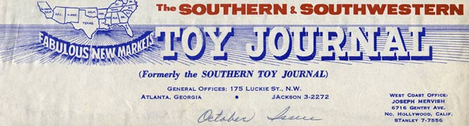 Toy Journal story on American Junior Aircraft Company