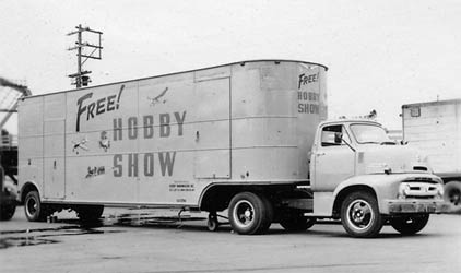Mobile Model Air Show Truck
