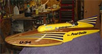 American Junior Miss Unlimited model boat by American Junior Aircraft Company