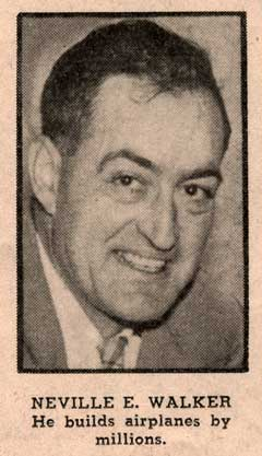 Jim Walker in the 1944 Sunday Oregonian