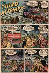 Flying Models Comic book from 1954 - Page 2