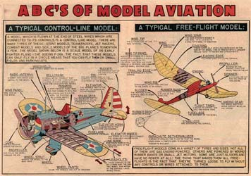 Flying Models Comic book from 1954 - Page 7