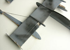 Damaged Whip Power plane for Jack Powell