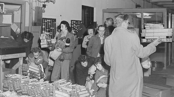 Christmas at American Junior, late 1950's